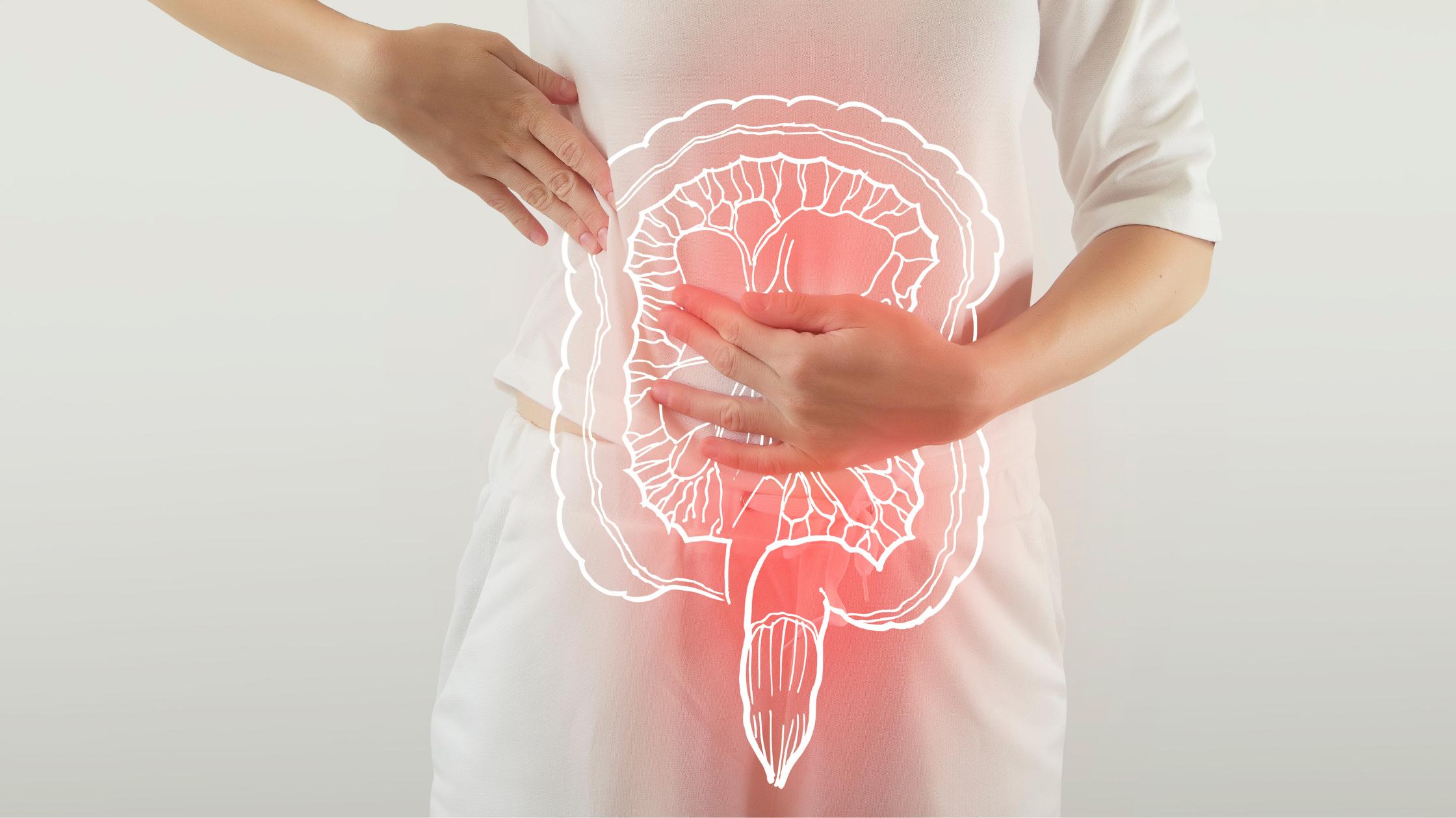 Intestin douloureux et infllammé