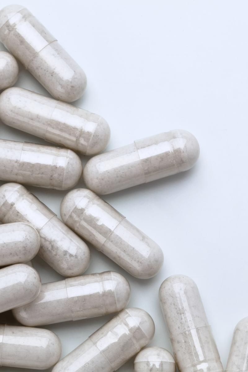 gélules de probiotiques pour réparer l'intestin et diversifier le microbiote